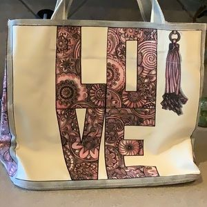 Brighton's Sweet Heart Tote NWT